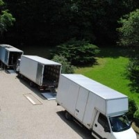 Emplacement camions